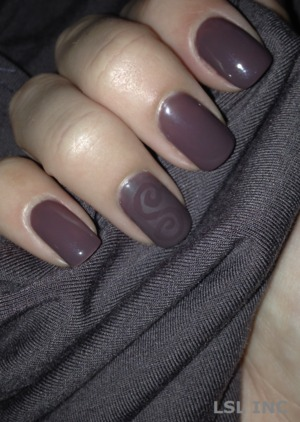 Gelish Lust at First Sight Gel Polish For a tutorial please visit my blog