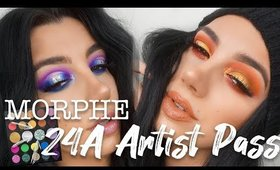 Morphe 24a Artist Pass  |  Two Looks + Review!
