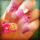 barbie nails! <3