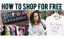 HOW TO SHOP FOR FREE | Follow me to Buffalo Exchange