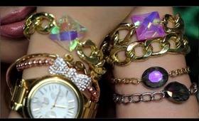 DIY Crystal Link Bracelets (Gift Idea) Inspired