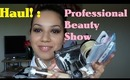 The Professional Beauty Show & My Haul - RealmOfMakeup