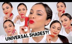 TESTING MAYBELLINE'S MADE FOR ALL LIPSTICKS! TrinaDuhra