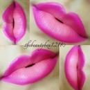 Ombré spring lips