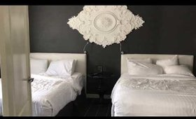 December Vlog Day 3 20 minutes off the Strip 2 Beds Queen Suite Room Tour