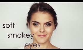 soft smokey eyes make up
