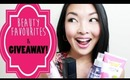Beauty Favourites and GIVEAWAY CONTEST!