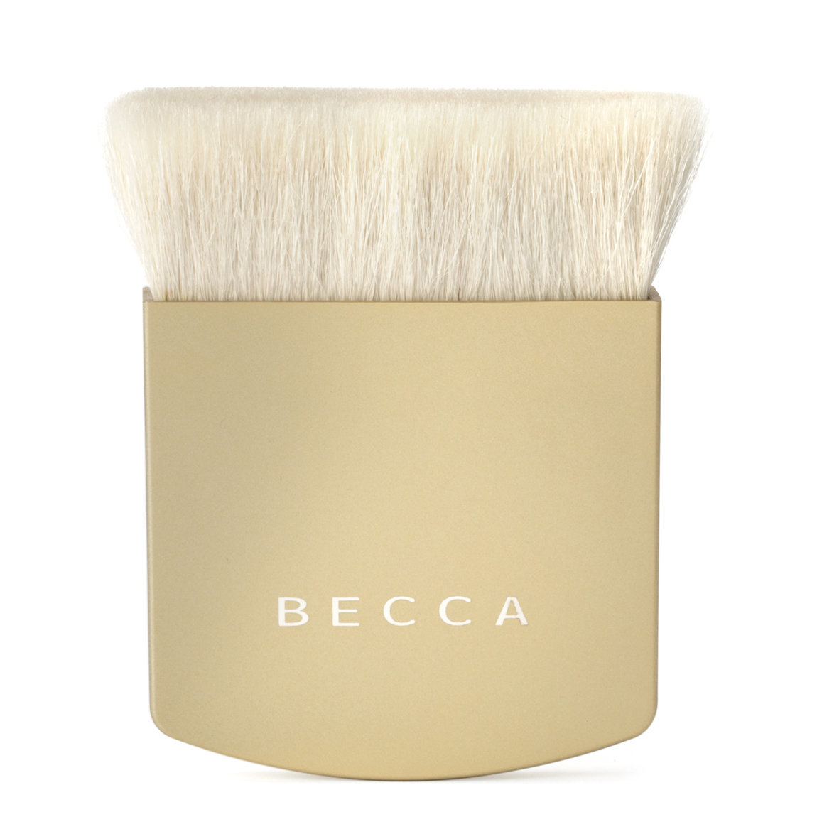 BECCA The One Perfecting Brush Gold product smear.