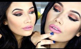 Peachy Makeup Tutorial | Too Faced Sweet Peach Eyeshadow Palette