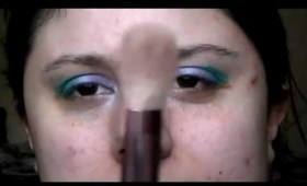 Tutorial: Purple and Teal Eyes using Madd Style Cosmetix (Requested by Lily Harain)