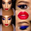 🇺🇸Fourth 💋f July Makeup 🇺🇸