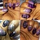 NYE 2016 nails