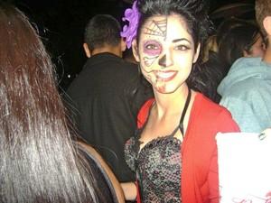 dia de los muertos costume Halloween 11'