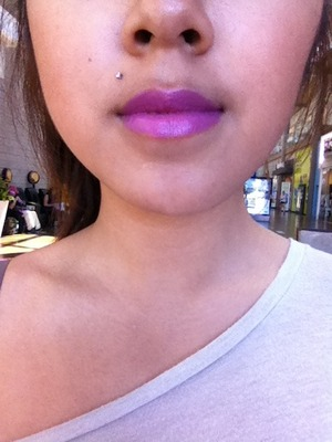 An awesome shade of purple that compliments my skin tone!