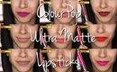 Colourpop Ultra Matte Lipsticks|| Review/ Lip Swatches