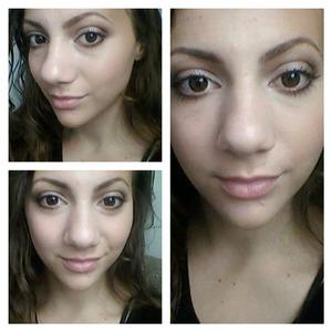 i super naturel makeup look