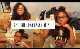 3 PICTURE DAY HAIRSTYLES COLLAB