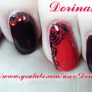 Rose Nails:)