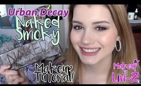 Urban Decay Naked Smoky Makeup Tutorial: Everyday Glam!