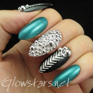 Read the blog post at http://glowstars.net/lacquer-obsession/2014/11/featuring-born-pretty-store-silver-round-nail-art-decorations/