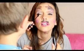 Blake Does My Make-Up