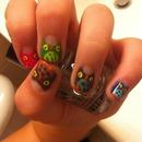 owl manicure