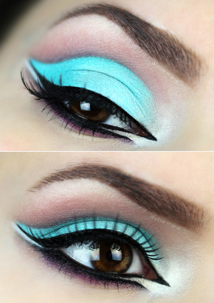 ☼  Want to know how to get this look? Click here! http://alyciamarieofficial.blogspot.de/2014/04/blue-lagoon.html