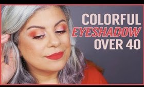 How to Wear Colorful Eyeshadow For Mature Eyes