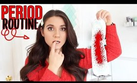 My PERIOD MORNING ROUTINE 2020 | Hacks EVERY Girl NEEDS To Know !
