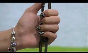 Silver Chain Nails!