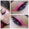Vibrant Pink Liner