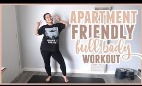 Apartment Friendly Low Impact Full Body Workout (for beginners like me)