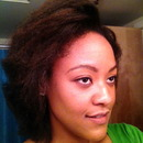 Blow Out of Natural Hair