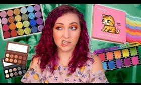 NEW MAKEUP 2019: Are there TOO many Rainbow Palettes?! | Good Bad Boring