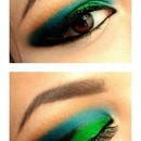 Blues and greens