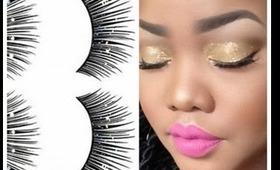 How to: Apply False Eyelashes
