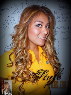 Just made this hair extensions, and some highlights last thursday... Hope that you like it!