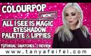 ColourPop All I See Is Magic Eyeshadow Palette | Tutorial, Swatches, & Review #WOW! | Tanya Feifel