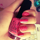 Glitter, Pink And Dots