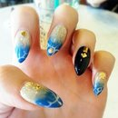 Check out my Beach'n nails!