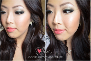 FOTD using the Urban Decay Naked Palette!