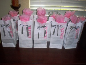 Goody bags for all my guest!!!