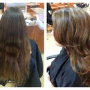 Highlights / layers / blowdry