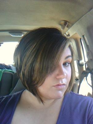 new hair by Darlene Lester at venetian salon in baytown tx