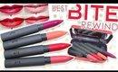 Review & Swatches: BITE Best Bite Rewind | Matte Crème Lip Crayon Lip Set + Dupes!