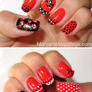 Spanish Rose Nail Art