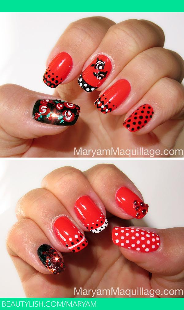 Spanish Rose Nail Art Maryam Ms Maryam Photo Beautylish