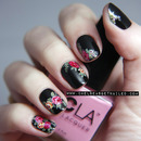 Doc Martens Floral Inspired Nails