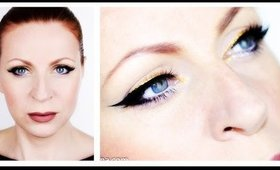 Eyeliner With a Golden Twist Makeup Tutorial
