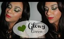 Beauty Tutorial: Glowy Green